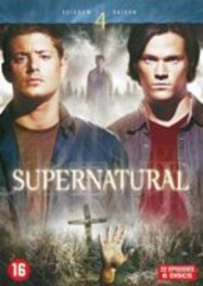 Supernatural - Seizoen 4, (DVD) PAL/REGION 2-BILINGUAL TV SERIES, DVDNL