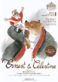 Ernest & Celestine, (DVD) PAL/REGION 2 ANIMATION, DVD