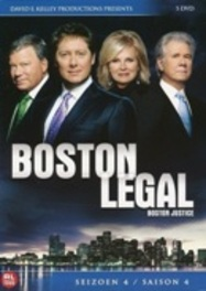 Boston Legal - Seizoen 4 (5DVD)