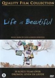 Life is beautiful, (DVD) PAL/ALL R./30 KORTE FILMS MARK DE CLOE/JEROEN BERKVENS MOVIE, DVDNL