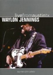 LIVE FROM AUSTIN, TX RECORDED APRIL 1, 1989 DVD, WAYLON JENNINGS, DVDNL