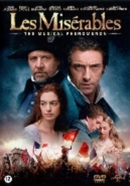 Les miserables, (DVD) BILINGUAL /CAST: HUGH JACKMAN, RUSSELL CROWE MOVIE, DVDNL
