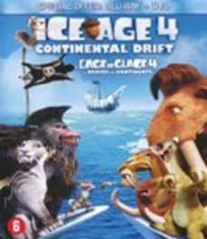 Ice age 4, (Blu-Ray) BILINGUAL / CONTINENTAL DRIFT /CAST: RAY ROMANO + DVD, ANIMATION, Blu-Ray