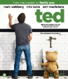 TED BILINGUAL/ W/SETH MACFARLANE,MARK WAHLBERG MOVIE, BLURAY