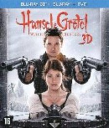 Hansel & Gretel - Witch hunters 3D, (Blu-Ray) .. HUNTERS - BILINGUAL / W/JEREMY RENNER,GEMMA ARTERTON MOVIE, Blu-Ray