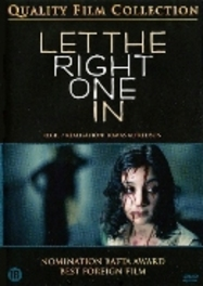Let the right one in , (DVD) UK VERSION   CAST:  KARE HEDEBRANT, LINA LEANDERSSON MOVIE, DVDNL