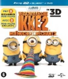 Verschrikkelijke ikke 2 3D (Despicable me 2 3D), (Blu-Ray) BILINGUAL - SUPERSET 3D+2D INCL.DVD ANIMATION, BLURAY