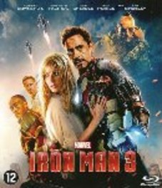 Iron man 3, (Blu-Ray) BILINGUAL /CAST: ROBERT DOWNEY JR, GWYNETH PALTROW MOVIE, Blu-Ray