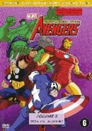 Marvel the avengers - Earths mightiest heroes 3, (DVD) .. EARTH'S MIGHTIEST HEROES! VOL.3-BILINGUAL. ANIMATION, DVD