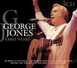 EARLY YEARS Audio CD, GEORGE JONES, CD