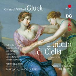 IL TRIONFO DI CLELIA ARMONIA ATENEA/G.S.DI RISIO C.W. GLUCK, CD