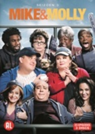 Mike & Molly - Seizoen 3, (DVD) PAL/REGION 2 // W/ MELISSA MCCARTHY, BILLY GARDELL TV SERIES, DVDNL