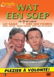 Wat een soep, (DVD) THEATERREGISTRATIE CAALS, LUC & DIRK VOOREN, DVDNL