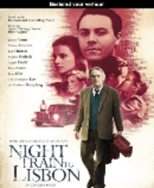 NIGHT TRAIN TO LISBON BILINGUAL // W/ JEREMY IRONS, MELANIE LAURENT MOVIE, BLURAY