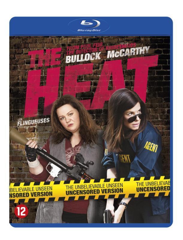 Heat, (Blu-Ray) BILINGUAL /CAST: SANDRA BULLOCK, MELISSA MCCARTHY MOVIE, Blu-Ray