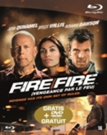 Fire with fire, (Blu-Ray) CAST: JOSH DUHAMEL, BRUCE WILLIS, ROSARIO DAWSON MOVIE, Blu-Ray