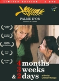 4 MONTHS 3 WEEKS 2 DAYS.. PAL/REGION 2 *PALME D'OR WINNER BY CHRISTIAN MUNGIU* DVD, MOVIE, DVD