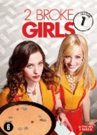 2 broke girls - Seizoen 1, (DVD) PAL/REGION 2-BILINGUAL // W/ KAT DENNINGS, BETH BEHRS TV SERIES, DVD