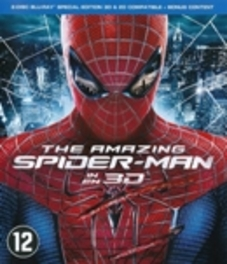 Amazing Spider-man 3D, (Blu-Ray) ALL REGIONS-BILINGUAL // W/ ANDREW GARFIELD, EMMA STONE MOVIE, BLURAY