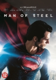 MAN OF STEEL PAL/REGION 2-BILINGUAL // W/ HENRY CAVILL, AMY ADAMS MOVIE, DVD