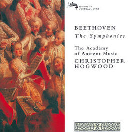 SYMPHONIES *BOX* W/ACADEMY OF ANCIENT MUSIC, CHRIS HOGWOOD Audio CD, L. VAN BEETHOVEN, CD