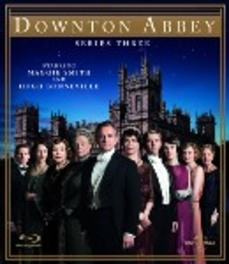 Downton Abbey - Seizoen 3, (Blu-Ray) BILINGUAL /CAST: HUGH BONNEVILLE, MAGGIE SMITH TV SERIES, Blu-Ray