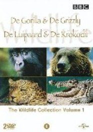 BBC wildlife special 1, (DVD) PAL/REGION 2 // GORILLA/GRIZZLY/LUIPAARD/KROKODIL DOCUMENTARY, DVDNL