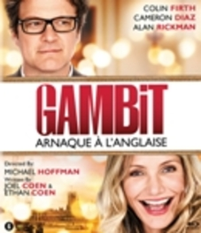 GAMBIT W/ COLIN FIRTH, CAMERON DIAZ MOVIE, BLURAY