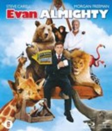 Evan almighty, (Blu-Ray) BILINGUAL // STEVE CARELL & MORGAN FREEMAN MOVIE, Blu-Ray