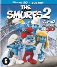 De smurfen 2 (2D + 3D), (Blu-Ray) BILINGUAL // REGION A, B & C MOVIE, BLURAY