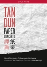 PAPER CONCERTO, DUN, TAN, DUN, TAN NTSC/ALL REGIONS/ROYAL STOCKHOLM PHO DVD, TAN DUN, DVDNL