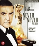 Never say never again, (Blu-Ray)