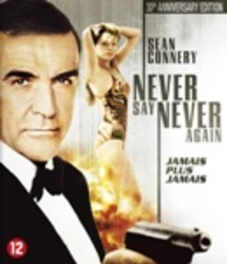 Never say never again, (Blu-Ray) BILINGUAL /CAST: SEAN CONNERY, BARBARA CARRE JAMES BOND, Blu-Ray
