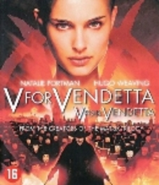 V FOR VENDETTA W/ NATALIE PORTMAN, HUGO WEAVING, STEPHEN REA MOVIE, Blu-Ray