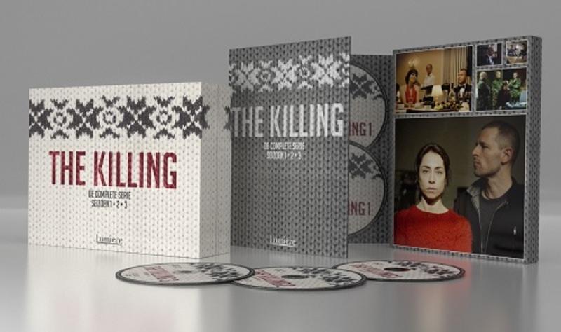 KILLING 1-2-3 BOX PAL/REGION 2 // W/ SOFIE GRABOL, NIKOLAJ LIE KAAS TV SERIES, DVD
