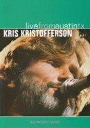 LIVE FROM AUSTIN, TX DVD, KRIS KRISTOFFERSON, DVDNL
