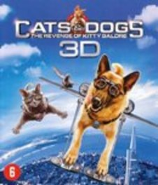 Cats & dogs - De wraak van Kitty Galore (2D+3D), (Blu-Ray) .. WRAAK VAN KITTY GALORE // 3D + 2D VERSION MOVIE, BLURAY