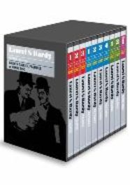 Laurel & Hardy complete series, (DVD) UK VERSION // SILENTS, TALKIES, FEATURES +BONUS DISC LAUREL & HARDY, DVDNL
