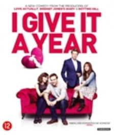 I give it a year, (Blu-Ray) CAST: ANNA FARIS, ROSE BYRNE, SIMON BAKER, RAFE SPALL MOVIE, Blu-Ray