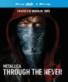 Metallica - Through the never 3D, (Blu-Ray) ALL REGIONS-BILINGUAL // 3D & 2D VERSION METALLICA, Blu-Ray