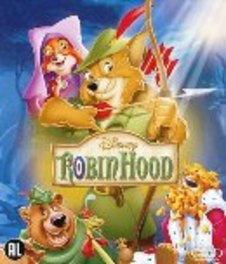 Robin Hood, (Blu-Ray) BILINGUAL /CAST: BRIAN BEDFORD, PHIL HARRIS ANIMATION, Blu-Ray