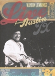 LIVE FROM AUSTIN TX -2- WAYLON JENNINGS, DVD