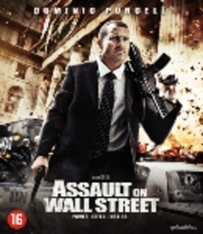 Assault on wall street, (Blu-Ray) W/ DOMINIC PURCELL MOVIE, Blu-Ray