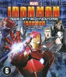 Iron man - Rise of technovore, (Blu-Ray) .. TECHNOVORE - BILINGUAL // BY HIROSHI HAMAZAKI ANIMATION, Blu-Ray