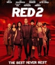 RED 2, (Blu-Ray) CAST: BRUCE WILLIS, JOHN MALKOVICH MOVIE, BLURAY