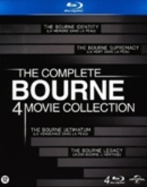 The Complete Bourne Blu-Ray Collection (1-4)