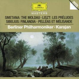 MOLDAU/FINLANDIA/PELL.. -BERLINER PHILHARMONIC/HERBERT VON KARAJAN Audio CD, SMETANA/SIBELIUS/LISZT, CD