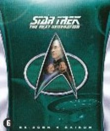 STAR TREK-NEXT GEN..4 BILINGUAL TV SERIES, Blu-Ray