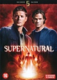 Supernatural - Seizoen 5, (DVD) PAL/REGION 2-BILINGUAL // W/ JENSEN ACKLES TV SERIES, DVDNL