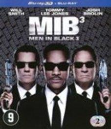 Men in black 3 3D, (Blu-Ray) W/ WILL SMITH, TOMMY LEE JONES, JOSH BROLIN MOVIE, Blu-Ray